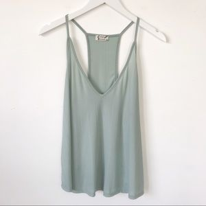 Free People Tops - Free People | Light Green Flowy Cami